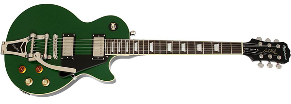 Epiphone Joe Bonamassa Les Paul Signature Guitar in Inverness Green with Bigsby