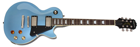 joe bonamassa epiphone custom pelham blue signature les paul